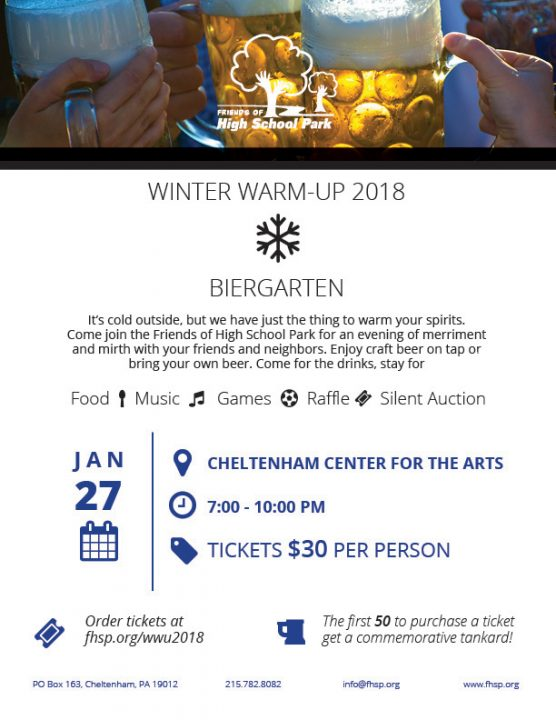 FHSP Winter Warm Up 2018 Flyer